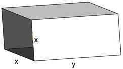 maximum volume of a rectangular prism