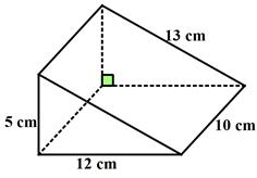 how to find surface area of a triangular prism examples