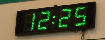 time-digital clock
